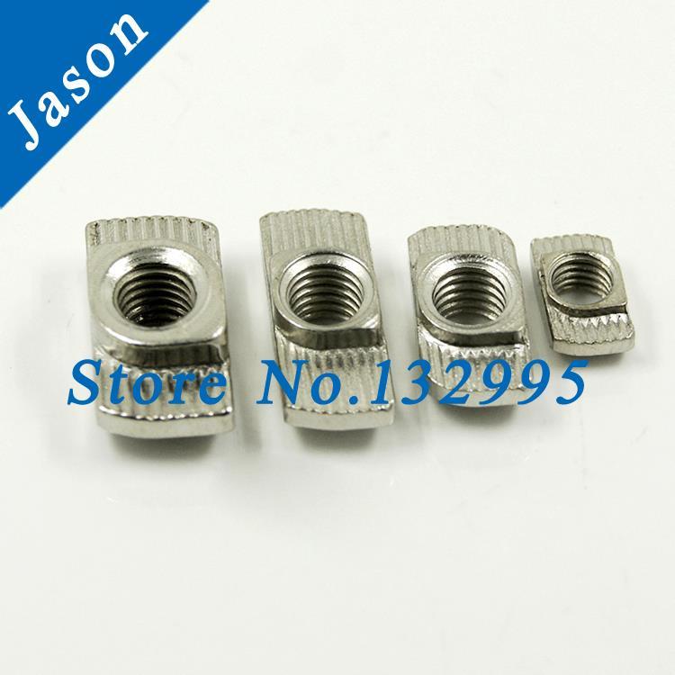 Гаджет  2020-M5 T nut Hammer Head Nut M6 Connector Nickel Plated for 20 series Slot Groove 8 M4 Aluminium Profile Accessories None Аппаратные средства