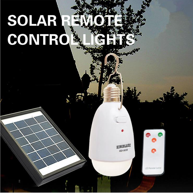 Solar remote control lamp, quality, multi-functional living room lamp bedroom light Night stand lamp LED emergency lights(China (Mainland))