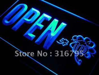 j819-b OPEN Irish Pub Bar Beer Club LED Neon Light Sign