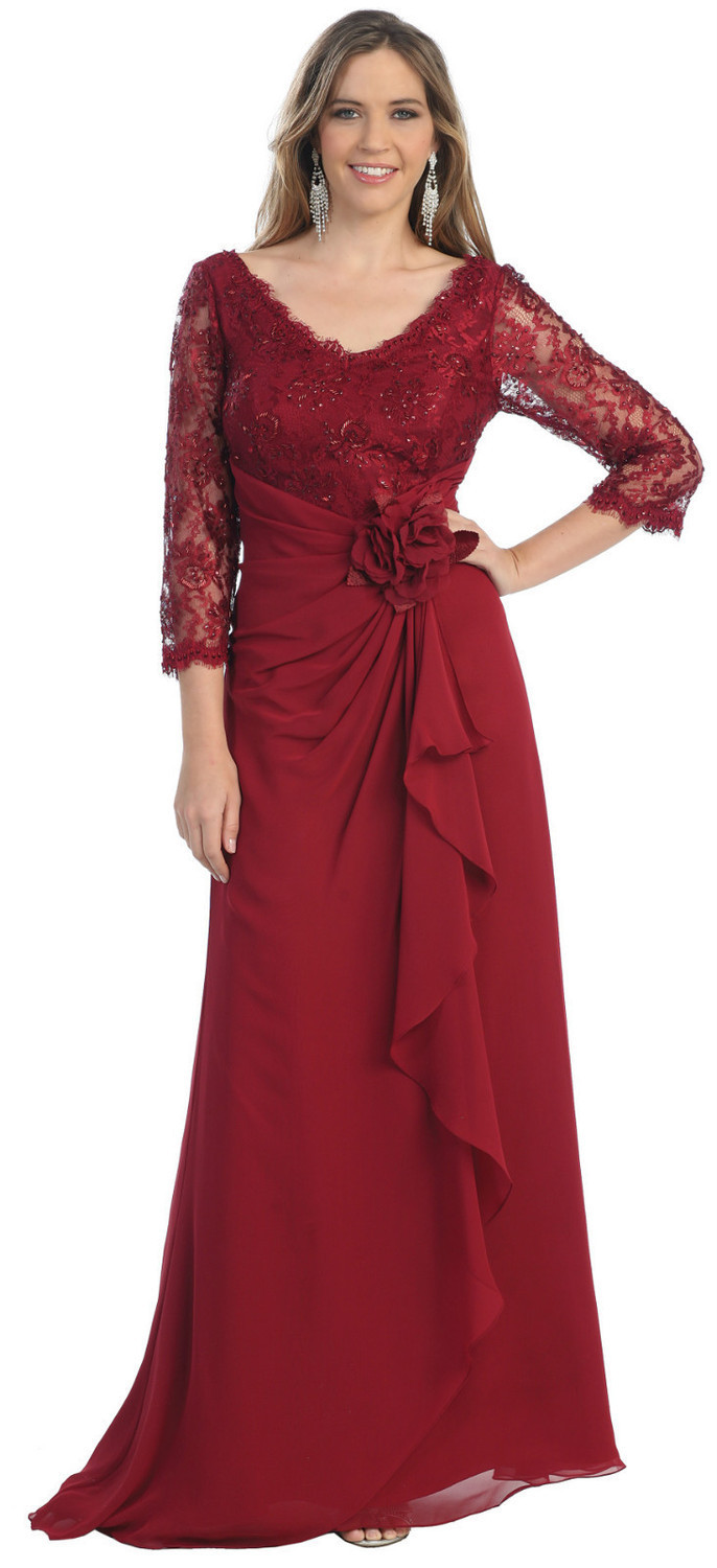 2015 Sale Wedding Vestido De Renda New Plus Size Mother Of