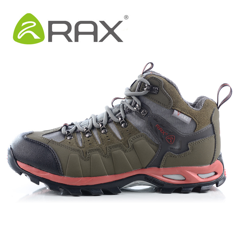 RAX New Design Hiking shoes men outdoor mountain waterproof shoes men sport climbing shoes sneakers A507(China (Mainland))