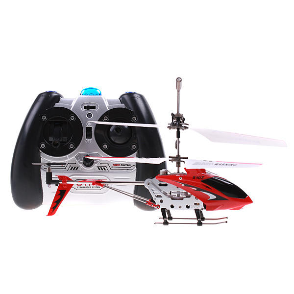 Syma S107g 3.5 Channel Mini Indoor Co-Axial Metal RC Helicopter(China (Mainland))