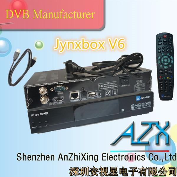 jynxbox ultra v6 dvb-s2 tuner module decoder satellite receiver internet(China (Mainland))