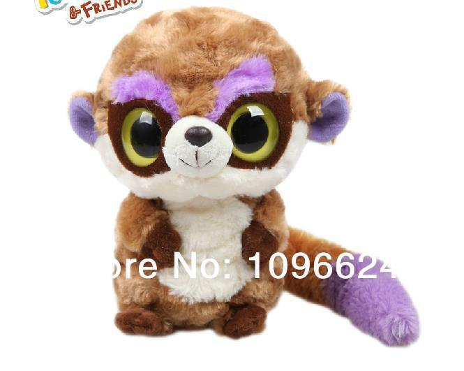 Hot High Fabric Quality Korean Yoohoo&Friends Rare Animal Big Eye Cute Plush Toy Meerkat - Pookee. Free Shipping(China (Mainland))