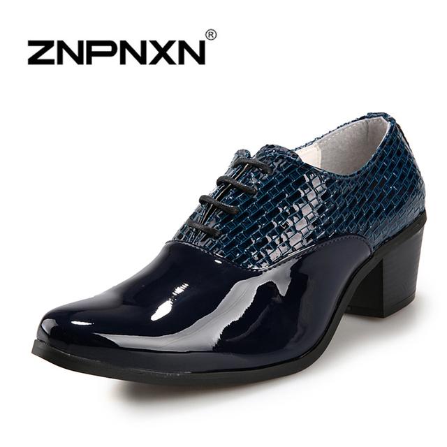 Мода мужской обуви свободного покроя кожа люкс формальный мужской обуви квартиры ...