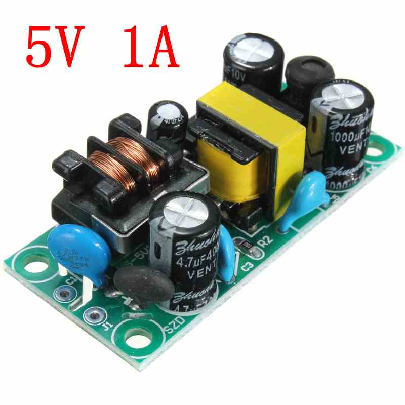 Wholesale Price Excellent Quality Original High Grade 5V 1A AC DC Power Supply Buck Converter Step Down Module(China (Mainland))