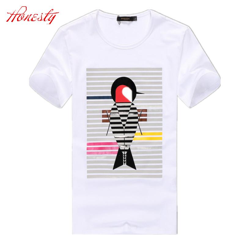 Men Casual T-shirt Summer Short Sleeve Brand Korean High Quality Cotton Tees Fashion Slim Fit T shirts Chemise Homme F2094(China (Mainland))