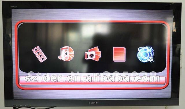 Chinese leading manufacturer wholesale full HD HDD media player