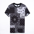 Bandana Men s Tee Shirts Men Cotton Casual Brand Bandana T Shirts Man Hip Hop Skateboard