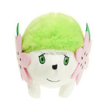 15*20cm Pokemon Character Shaymin Figure Cartoon Video Games Movies PP Cotton Stuffed Animals Plush Toys Anime Kids Baby Gift