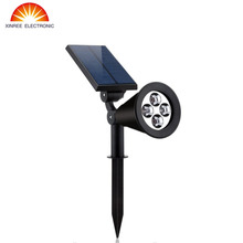 Buy XINREE Dual-use Solar Powered Motion Sensor Light Outdoor Solar Spotlights Garden Patio Pathway Lamps Emergency Lighting for $9.00 in AliExpress store