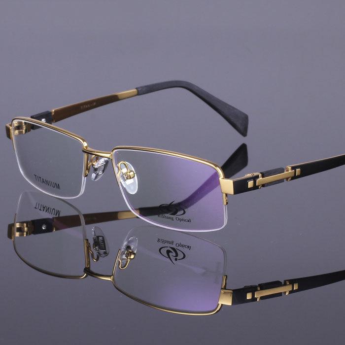 Eyeglass Frames For High Myopia : 2015-Original-brand-plate-gold-eyewear-high-quality-pure ...