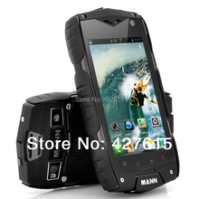 Free Shipping mann zug3 a18 Shockproof mobile phone ip68 waterproof rugged cell phone quad core 1GB RAM 4GB ROM(China (Mainland))