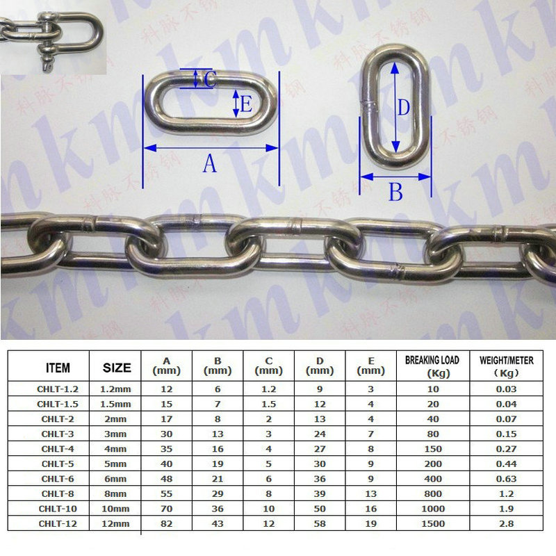 chain wholesale Picture - More Detailed Picture about wholesales ordinary AISI304 stainless ...