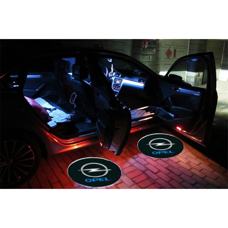 2 x CREE LED Car Door Logo Light Laser Welcome Guest Shadow Projector Light 097 NO. For Opel Constant Current Power Supply<br><br>Aliexpress