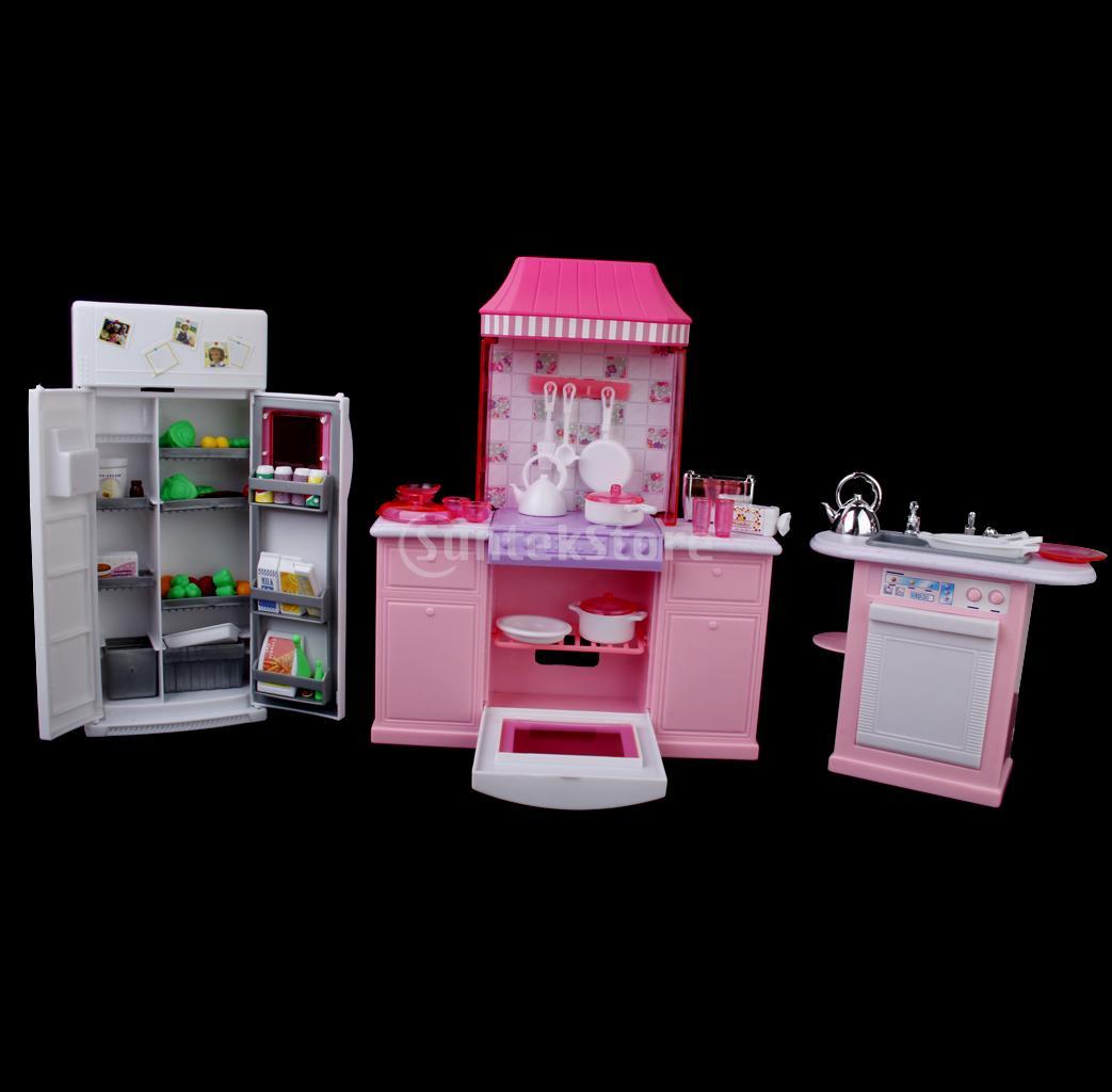 de plástico para bonecas jogo de cozinha mobiliário de luxo de  #822036 1043 1024