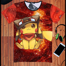 3d t shirts Pokemon GO Charmander Pikachu T-Shirt Do it for the Vine tshirt Summer style tees tops women men Free shipping