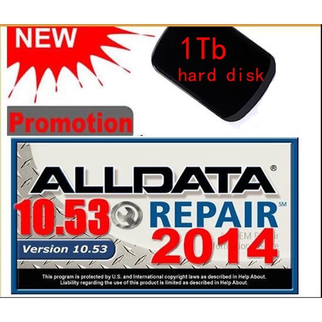 2016 Hot NEW Arrival  alldata V10.53 Mitchell on demand 2015.1Q and All data car software with tech support and free shipping