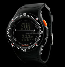 New Men Military Watch Sports Watches LED Digital Multifunction Army 50M Waterproof Dive Climbing Wristwatches Top Quality