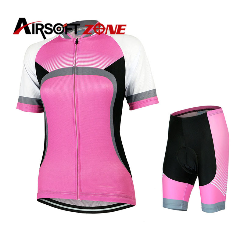 Bike Bicycle Clothing Clothes Windproof Women Cycling Jersey Jacket Breathable Sport Riding Jersey Set Bicycle Shirts and Pants