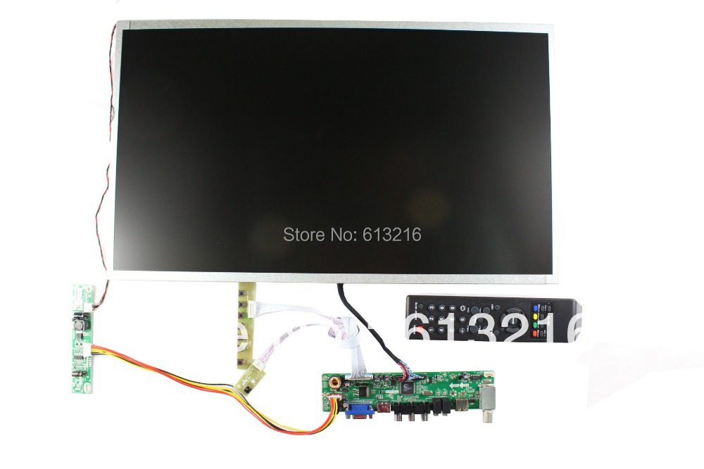 HDMI+VGA +AV LCD TV board +21.5 inch LCD panel +LVDS cable+Inverter with cable +OSD keypad board +Remote control(China (Mainland))