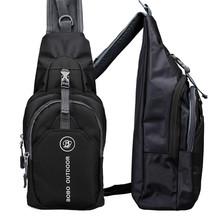 Men bag Outdoor Hiking Sport Handbag Polyester Chest Back Pack Crossbody Shoulder Bag Men Diagonal Package Rucksacks Hot sold(China (Mainland))
