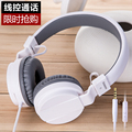 kanen ip950 wired music foldable headset with microphone bass headphone for computer high quality headset for