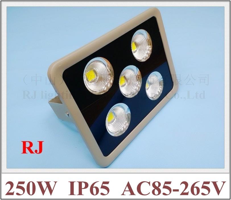 new style with cup shape reflector LED flood light floodlight spot light lamp 250W (5*50W) AC85-265V 20000lm CE(China (Mainland))