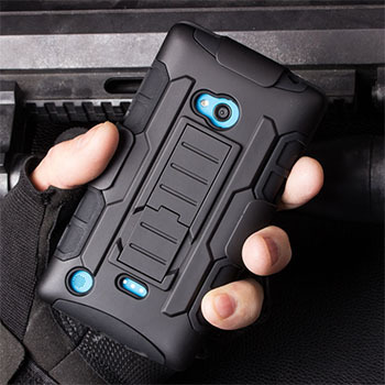 For Nokia Lumia 720 Future Armor Impact Holster Shockproof Hard Case For Nokia Lumia 720 Back Cover Mobile Phone Bags + Gift(China (Mainland))