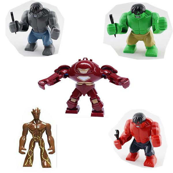 Big Iron Man vs Hulk Big Tree Man Iron Man Hulk