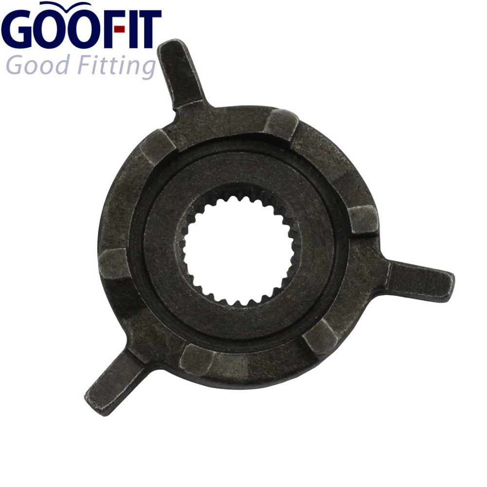 GOOFIT Kick Start Ratchet Gear for GY6 50cc 139qmb Motorcycle Scooter ATV & Go-kart A012-048(China (Mainland))