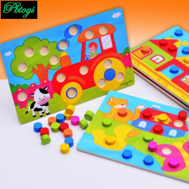 Clutch Plate Color Shape Classification Board Early Childhood Educational Baby Toys PG0588(China (Mainland))
