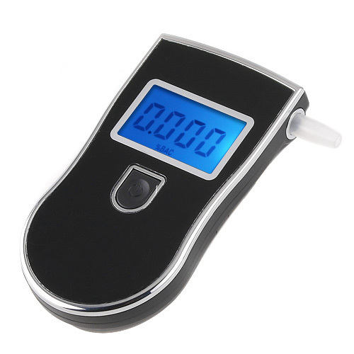 2015 NEW Hot selling Professional Police Digital Breath Alcohol Tester Breathalyzer Gadget Analyzer Dropshipping(China (Mainland))