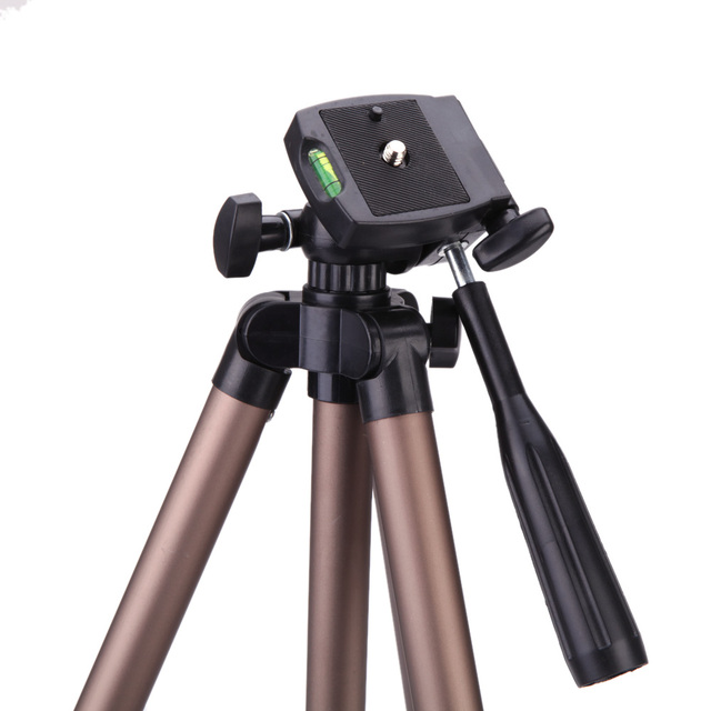WT3130 Protable Camera Tripod Aluminum alloy with Quick release plate Rocker Arm for Canon Nikon Sony DSLR Camera DV Camcorder
