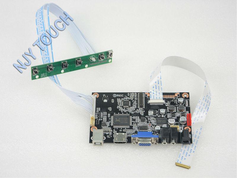 Free Shipping VGA HDMI Controller Board for 13.3 inch N133HSE-EA1 eDP 30Pin LCD 1920x1080<br><br>Aliexpress