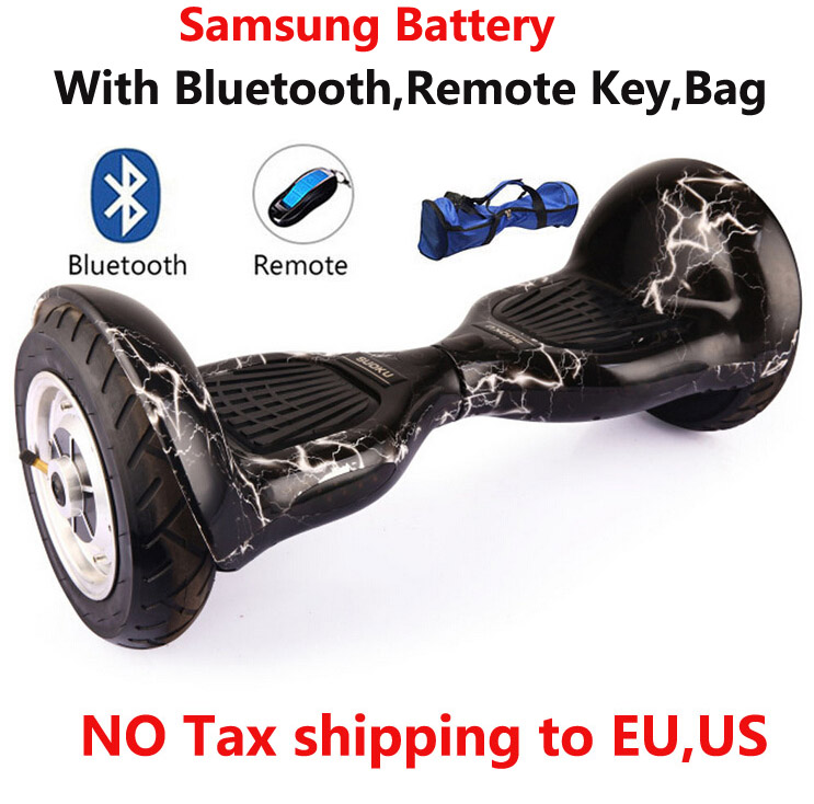 2016 Self balancing scooter 10 inch hoverboard 700W Samsung battery+Bluetooth+Bag+Remote Skateboard <font><b>Smart</b></font> Balance <font><b>Board</b></font> 10inch