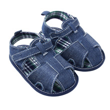 Newest New Blue Jean Baby Shoes Summer Toddler First Walkers Shoes(China (Mainland))