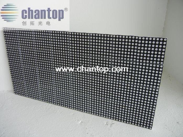 F5.0 P7.62 indoor red color 488mm*244mm 64*32pixels hub08 LED matrix module LED Display Sign Traffic Sign High resolution board(China (Mainland))