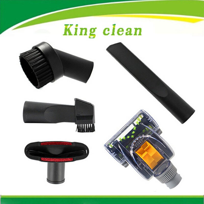 Discount Vacuum cleaner accessories suitable 4 pcs small nozzle 1pcs acarid brush free shipping(China (Mainland))