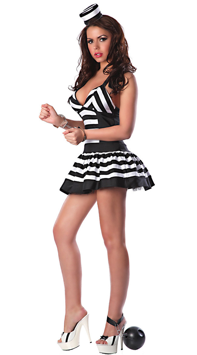 Costume Ideas With Black And White Stripes Costume Black White