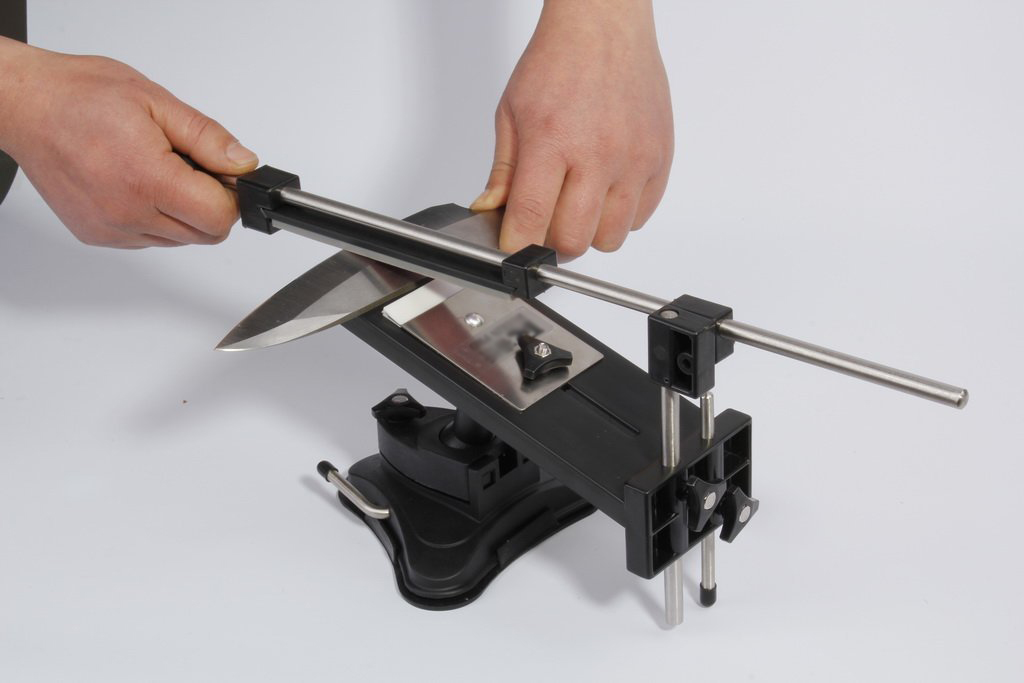 Buy SOSW-Fixed-angle Knife Sharpener Kits System 4 Sharpening Stones cheap