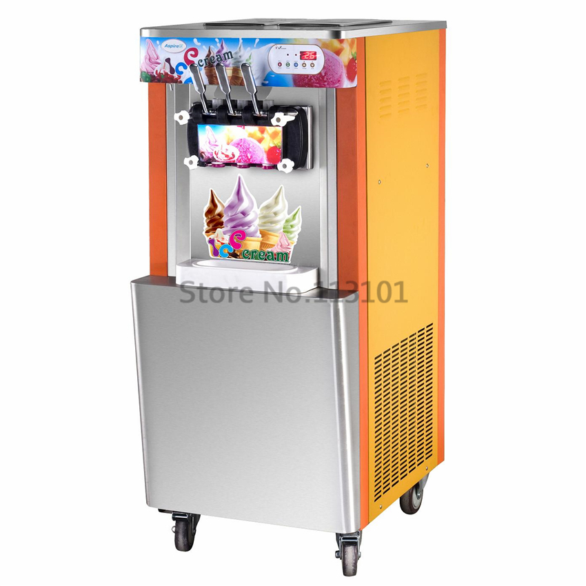 Hot sale soft ice cream maker intelligent commercial ice for Ice makers for sale