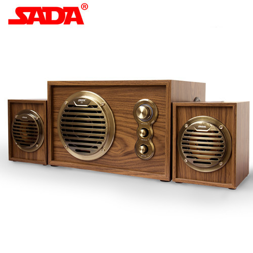 Consumer Electronics 2015 new Saida multimedia active speaker home theater computer desktop notebook wooden subwoofer stereo