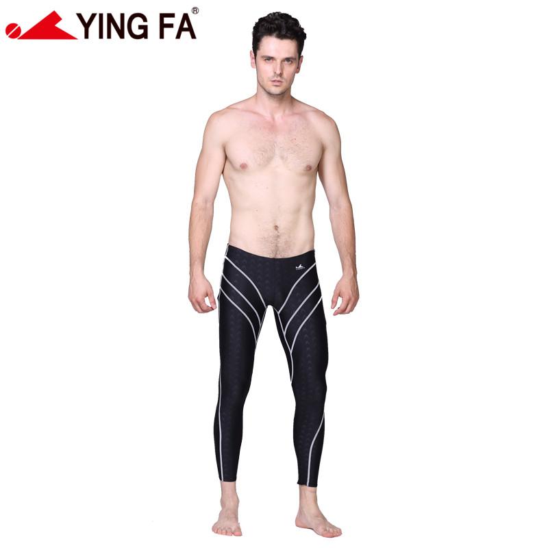 Yingfa water proof,chlorine resistant racing mens long swim pant speedo mens swimwear mens swimwear swimming trunks<br><br>Aliexpress