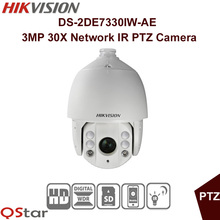 Buy Hikvision Original English Version DS-2DE7330IW-AE IP Camera 3MP 30X Network IR PTZ Camera CMOS UP 150m CCTV Camera for $884.00 in AliExpress store