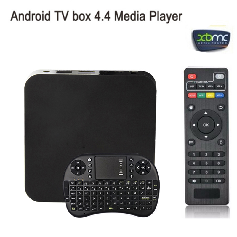 In stock i8 keyboard + MX S805 Android 4.4 smart TV BOX Quad Core 1GB+8GB Cortex A5 1.5GHZ+Mali-450 WIFI movie Media Player(China (Mainland))