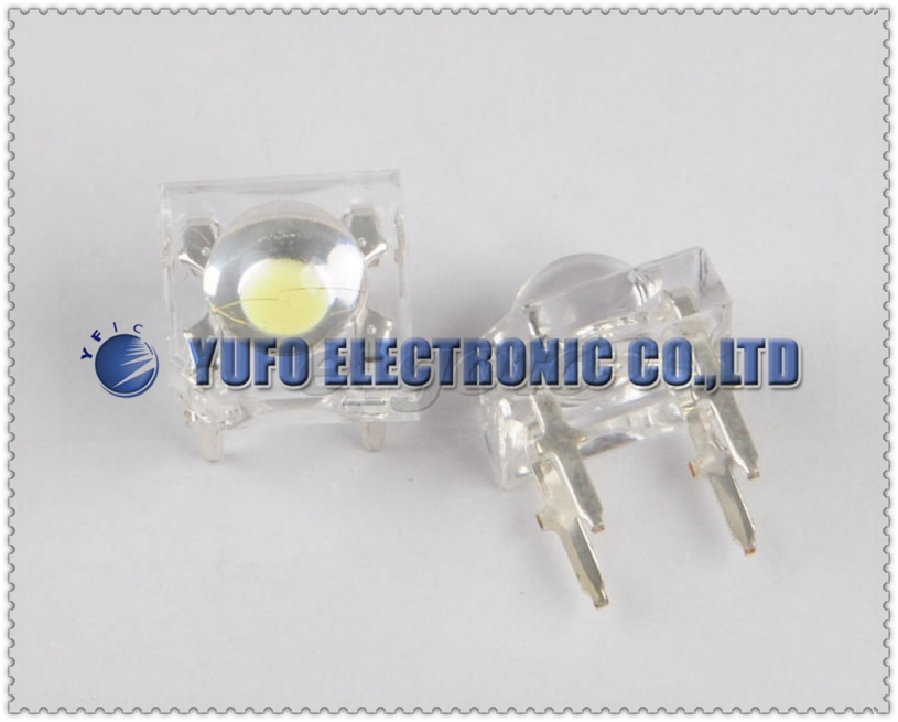 5Piranha LED White 5mm F5 Round Head Light Emitting Diode good - Promise New and Original store