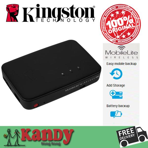 Kingston MobileLite 64GB Wireless Pro G3 multi-function mobile hard drive sharing card reader emergency charger wifi transmitter(China (Mainland))