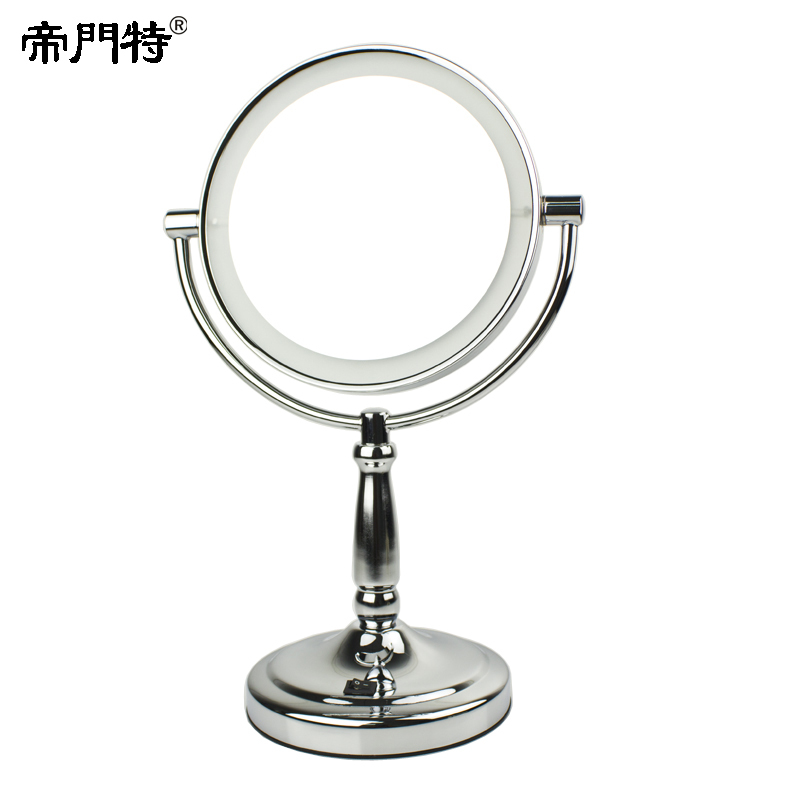 faced makeup mirror magnifying 3x mirror led light inmakeup mirrors. Black Bedroom Furniture Sets. Home Design Ideas