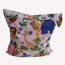 Baby Protable Nappy Reusable Washable Wet Dry Cloth Zipper Waterproof Diaper Bag